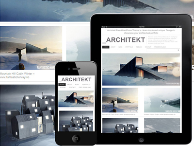Free Architecture WordPress Theme