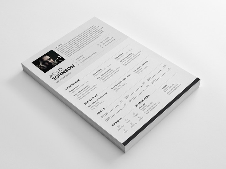 Clean Resume/CV TemplateClean Resume/CV Template