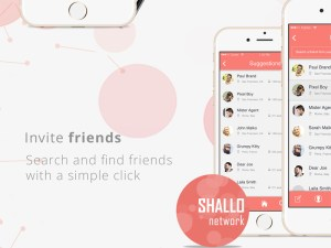 Dating App UI Design PSD