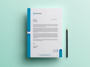 Free Creative Letteread Template