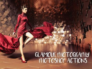 Free Glamour Photoshop Actions