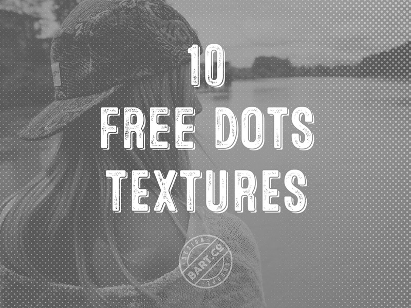 Free Halftone Dots Textures