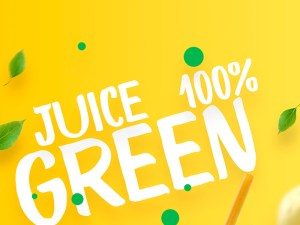 Free Juice Poster Template