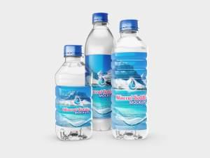 Free Mineral Water Bottles Mockups