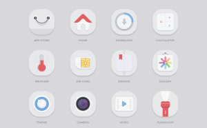 Free Mobile App Icon Set