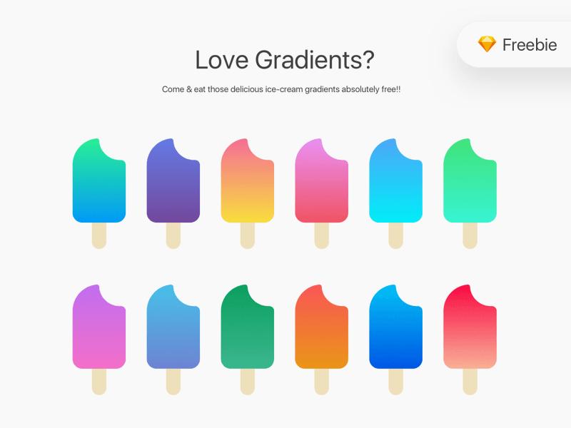 Free Sketch Gradients Bundle