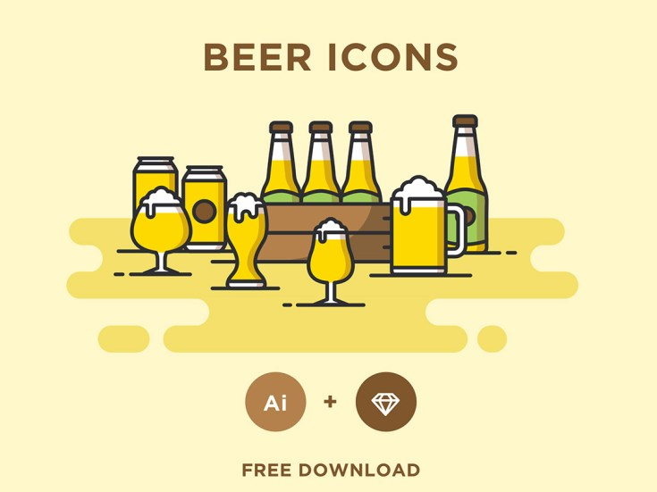 Free Vector Beer Icon