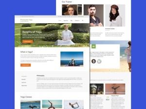 Free Yoga Wordpress Theme