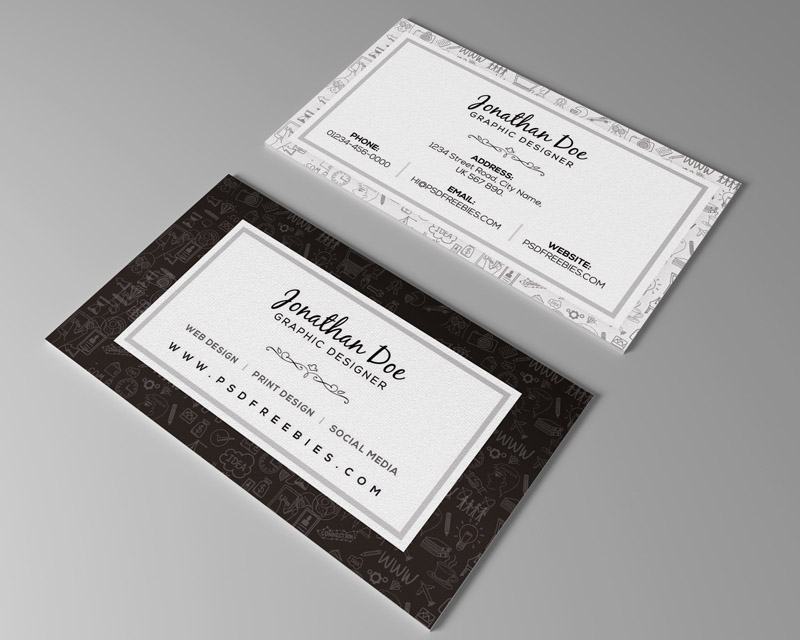 Free Freelancer Business Card Template