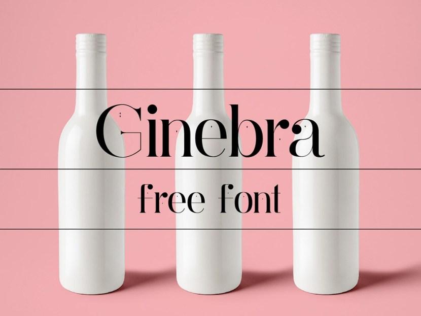Ginebra – Free Serif Typeface