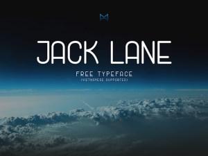 Jack Lane - Free Display Font