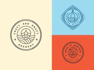 Free Retro Logo Template