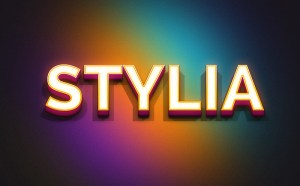 Stylia Text Effect PSD