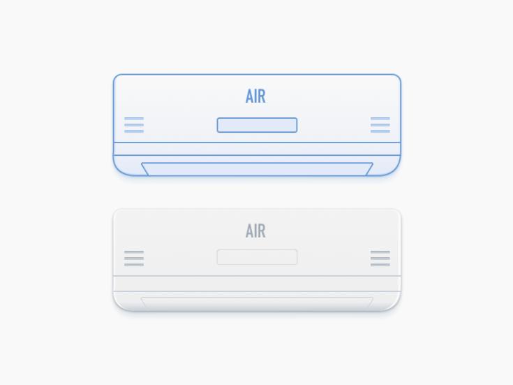 Air Conditioner Illustration