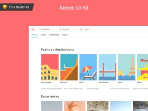 Free AirBnb UI Kit (Sketch)