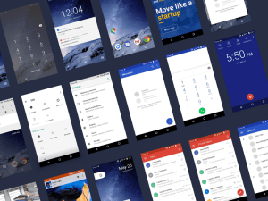 Free Android O UI kit