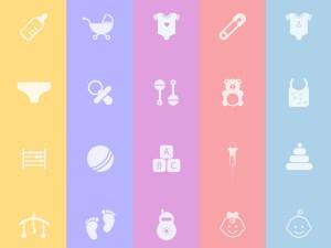 Free Baby Icon Set