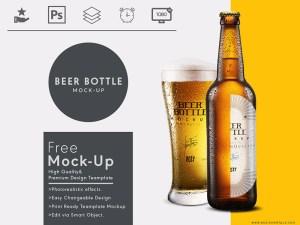 Beer Branding Mockup PSD