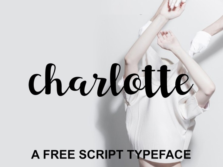 Charlotte – Free Script Typeface