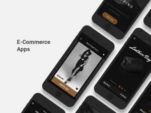 E-Commerce App Screens UI Kit