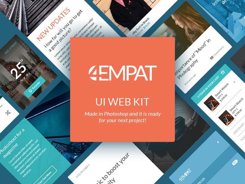 Empat – Free Ecommerce UI Kit