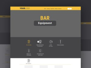 Equipment Website Template