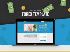 Free Forex Website Template
