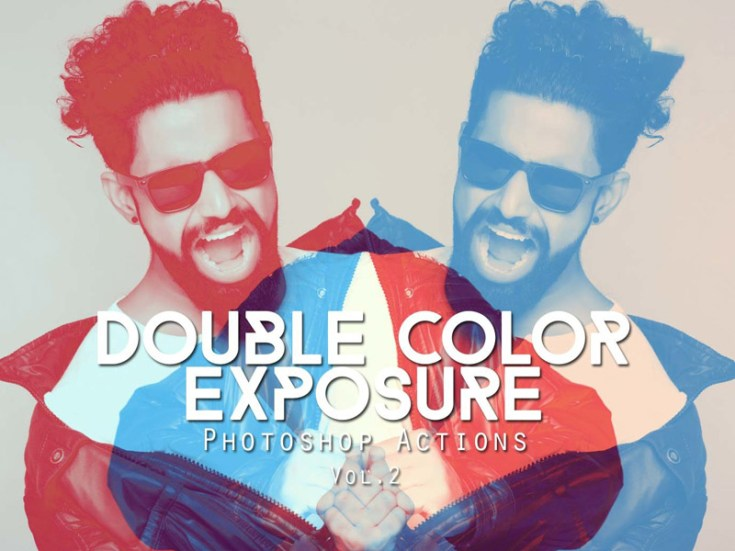 Free Double Exposure Photoshop Actions