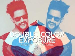 Free Double Exposure Photoshop Actions