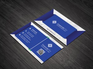Corporate PSD Business Card Template
