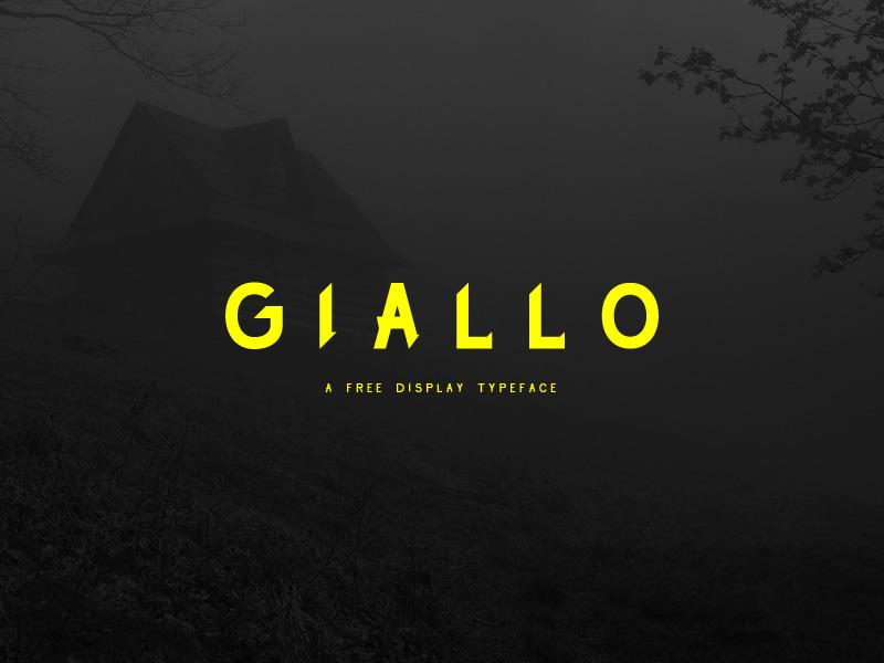 Giallo- Free Display Font