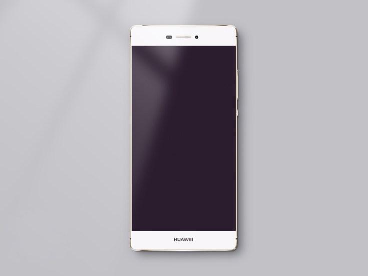 Free Huawei P8 Mockup