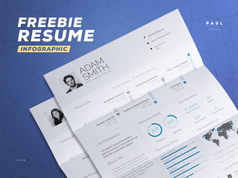 Infographic CV/Resume Template