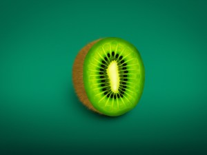 Free Kiwi Illustration PSD