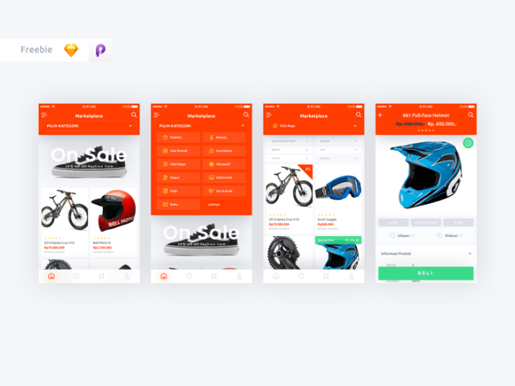 Marketplace UI Kit