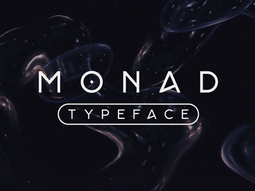 Monad Free Display Font