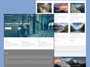 Septera - Free Business Wordpress Theme