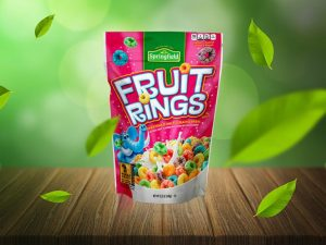 Free Standing Pouch Packaging Mockup
