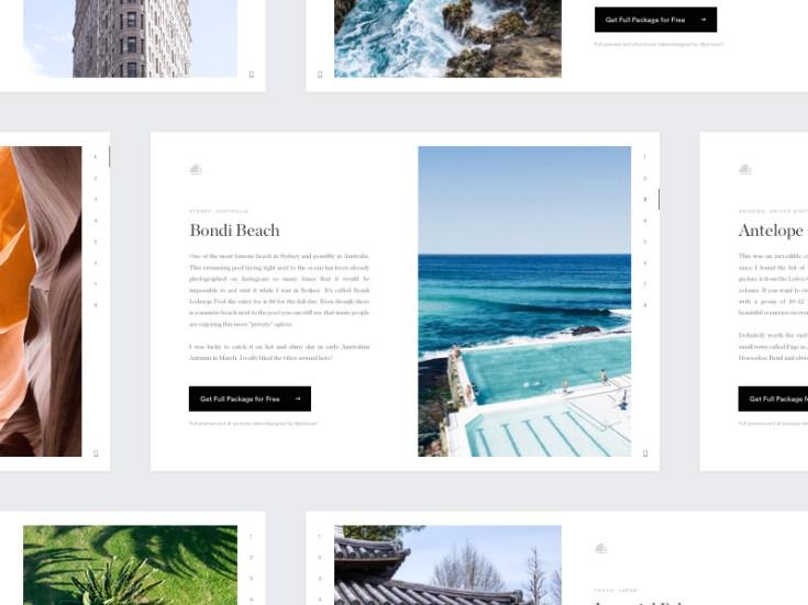 Wallpaper Widget UI Design