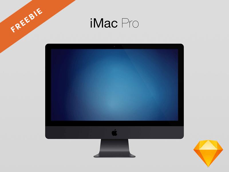 iMac Pro Mockup (Sketch)