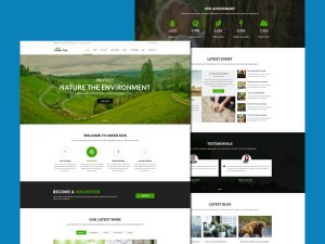 Free Environment Website Template