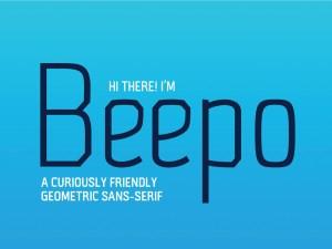 Beepo - Free Geometric Sans Serif Font
