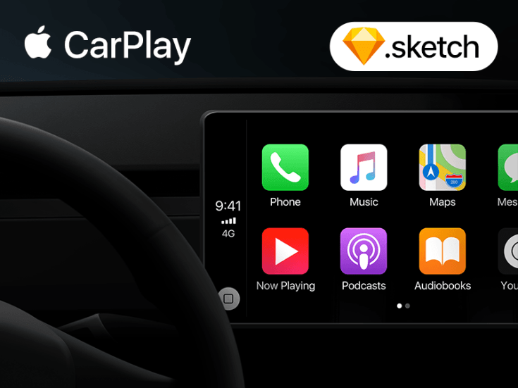 CarPlay UI Template