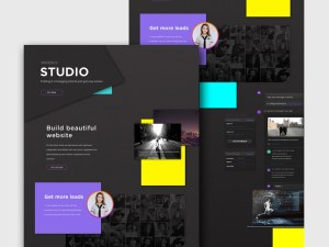 Free Creative Web Agency Website Template