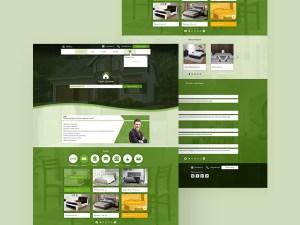 Free Furniture Shop Website Template