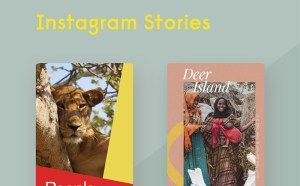 Free Instagram Stories PSD Templates
