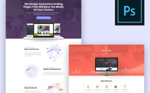 Free Landing Page Concept Template