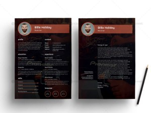 Free Musician Resume Template