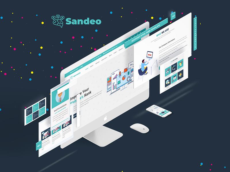 Free SEO Company Website Template
