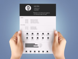 Free Simple Infographic Resume Template